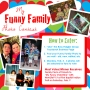 Win FREE Tickets – Enter our Funny Family Photo Contest