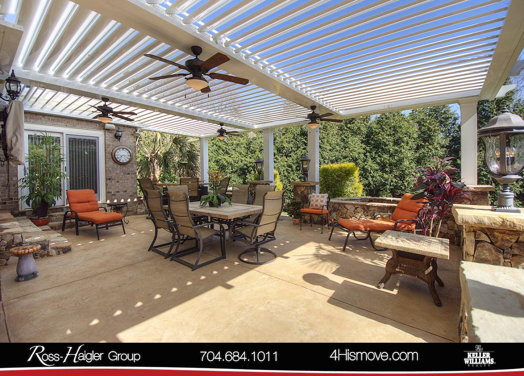9 Patio Open Roof 118 Avaclaire Way Indian Trail NC 28079 MLS 3372403 The  Ross Haigler Group At Keller Williams Realty Union County